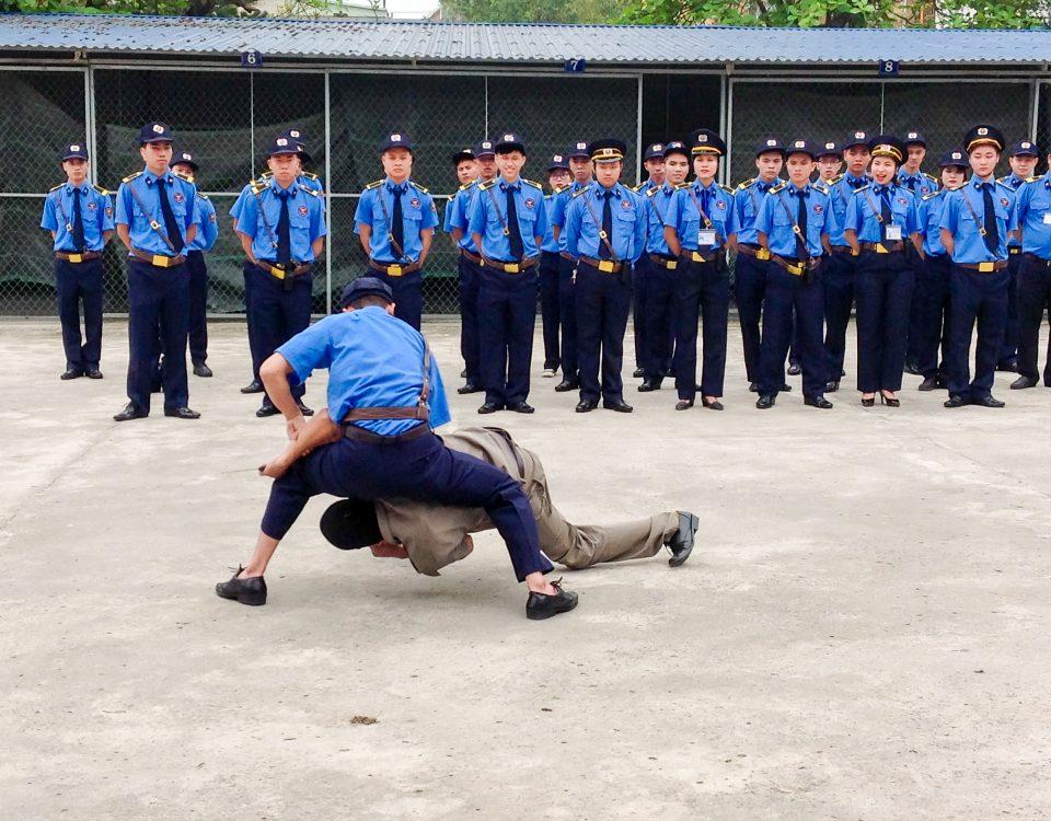 Huấn luyện đào tạo nhân viên Bảo vệ Liên Anh